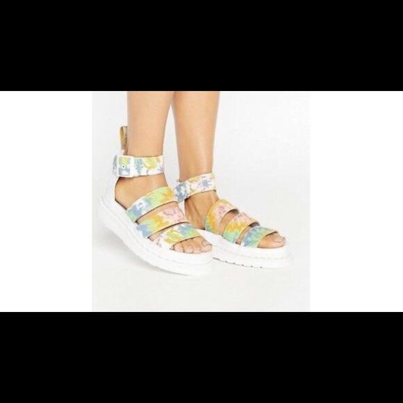 72f73b866c Dr. Martens Shoes | Dr Marten Clarissa Ii Tie Dye Platform Sandal ...